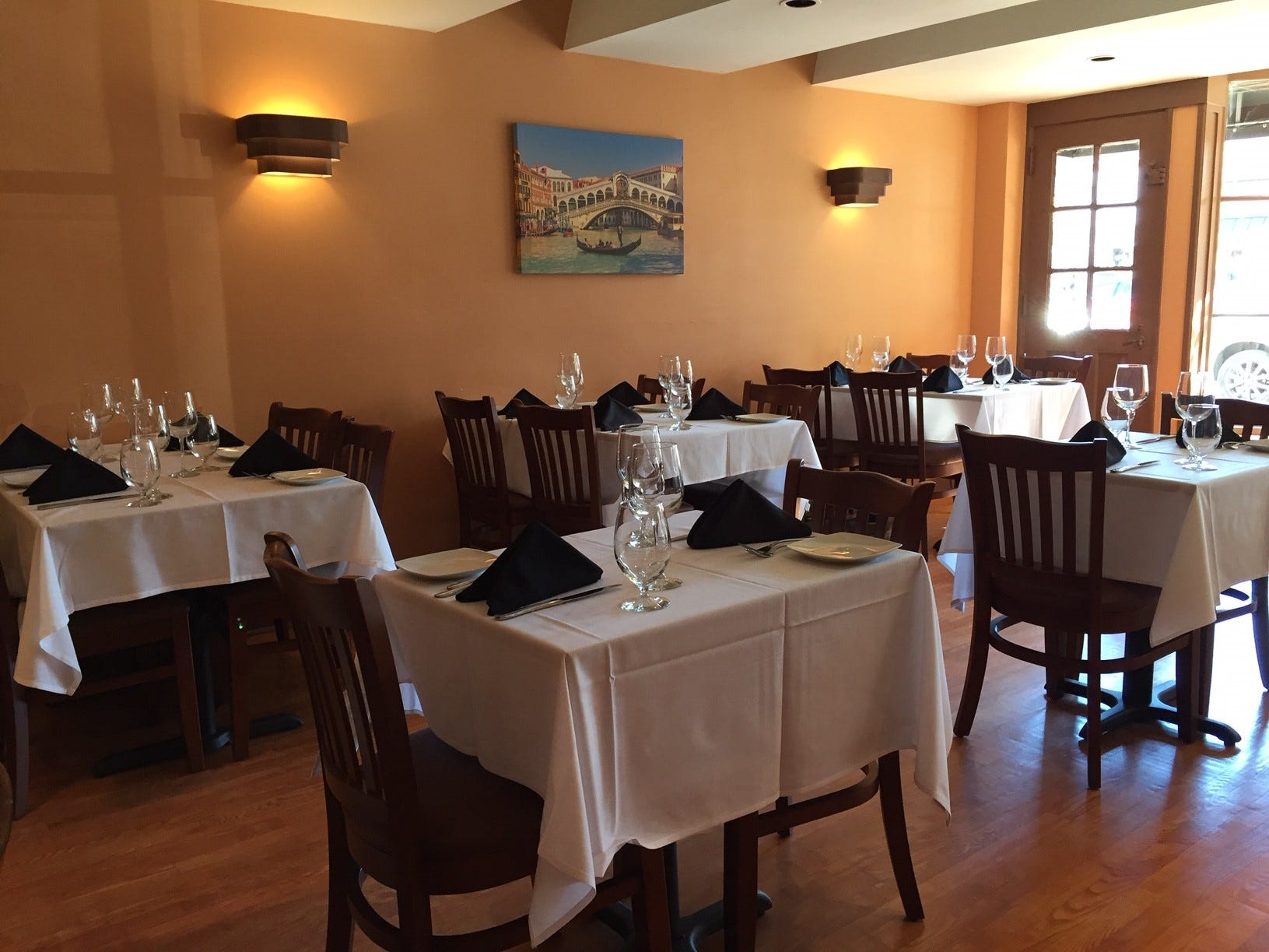 Verona Ristorante Italiano is open for lunch, dinner and weekend brunch.