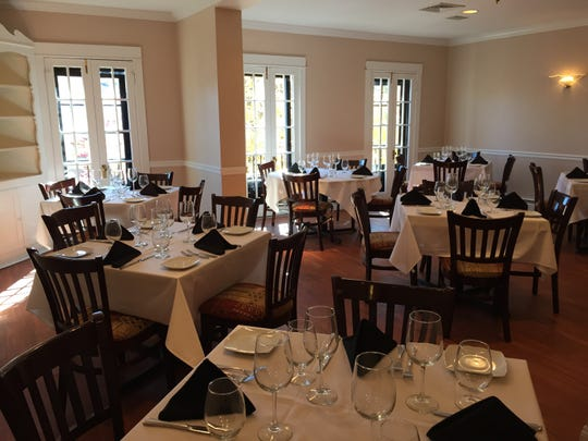 A bright, sunny dining space is available on the second floor of Verona Ristorante Italiano, for private events such as showers, as well as business meetings.