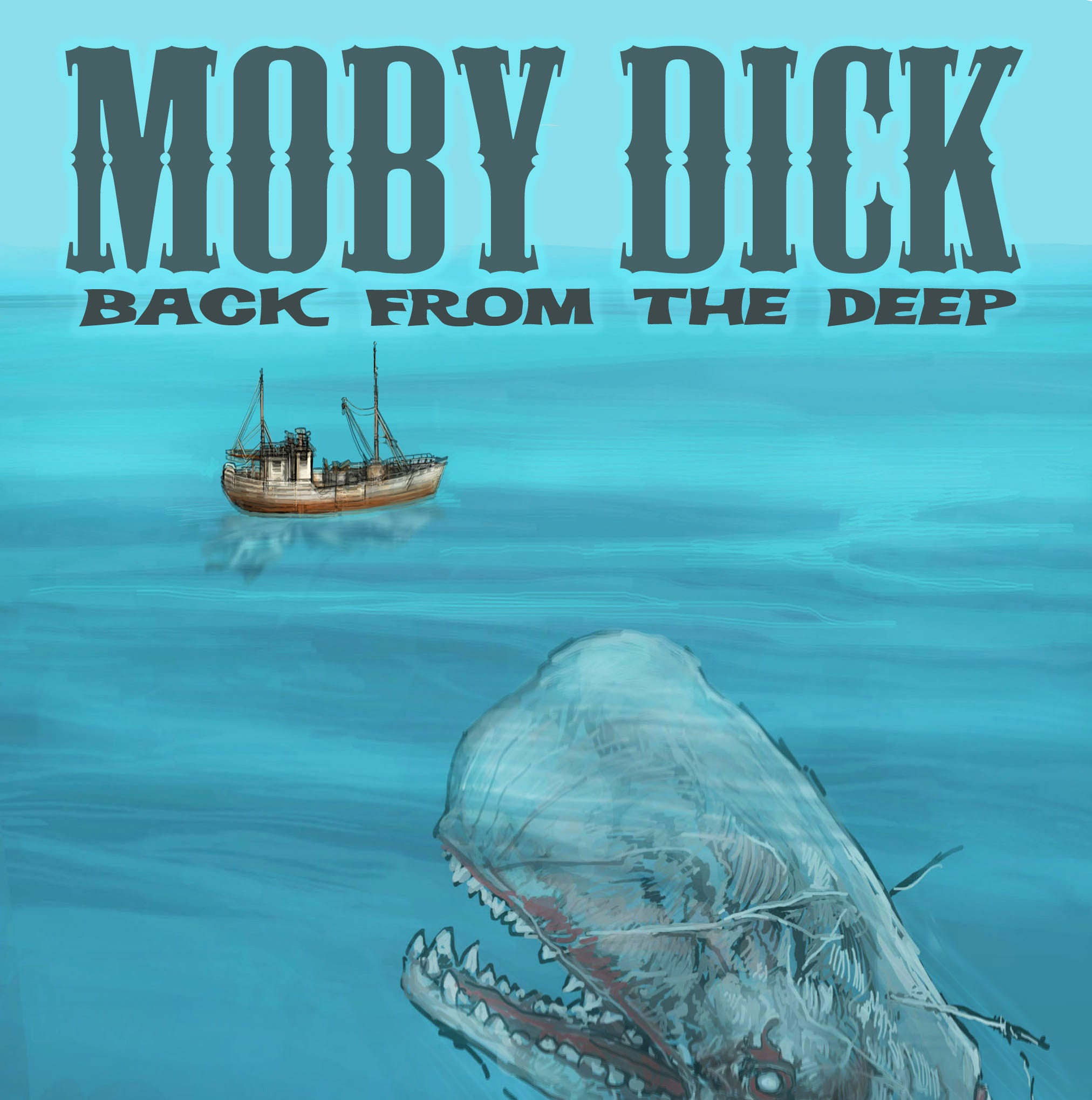Moby Dick gets spooky in comic book by Clarksville writer