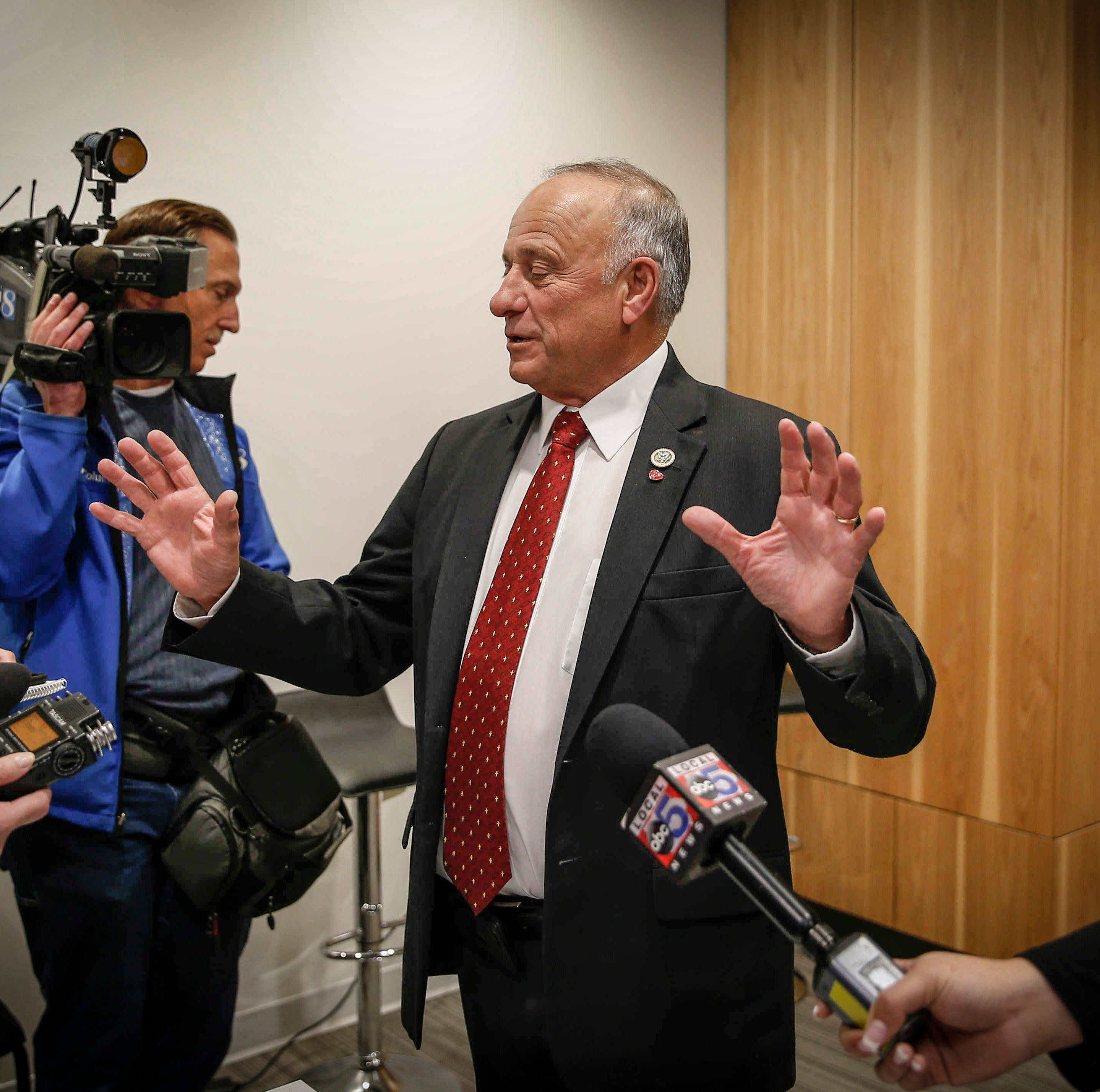 Rep. Steve King spars with conservative magazine which said he called immigrants 'dirt'