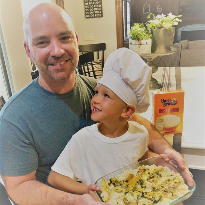 Teddy Craig, a second-grader at Waukee Elementary, entered a cooking competition for Uncle Ben's brand rice products. When winners are announced in December 2018, Craig and his father hope to secure $15,000 cash and a $30,000 cafeteria makeover for Waukee Elementary.