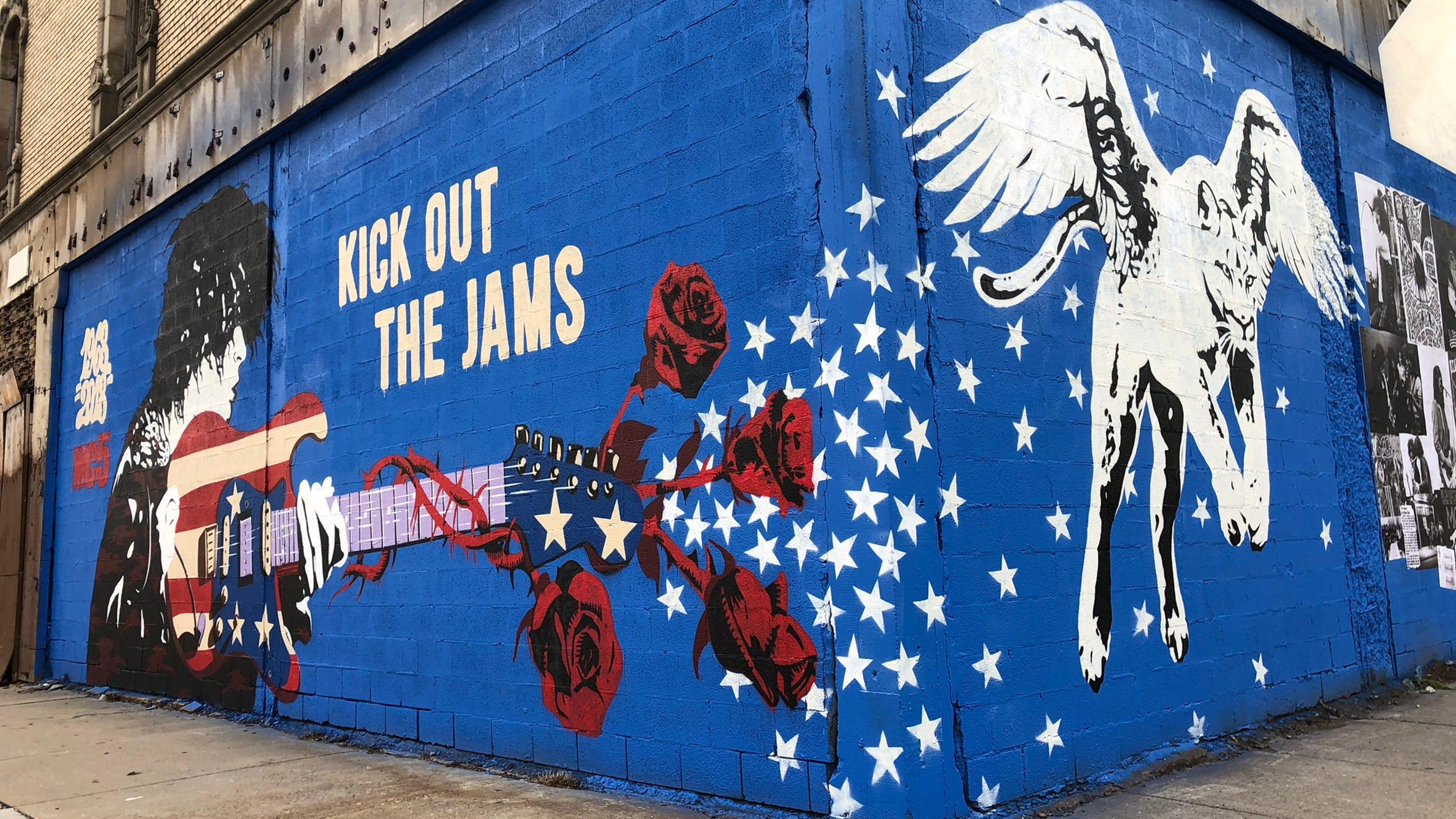 Detroit S Grande Ballroom Gets New Mural Commemorating Mc5