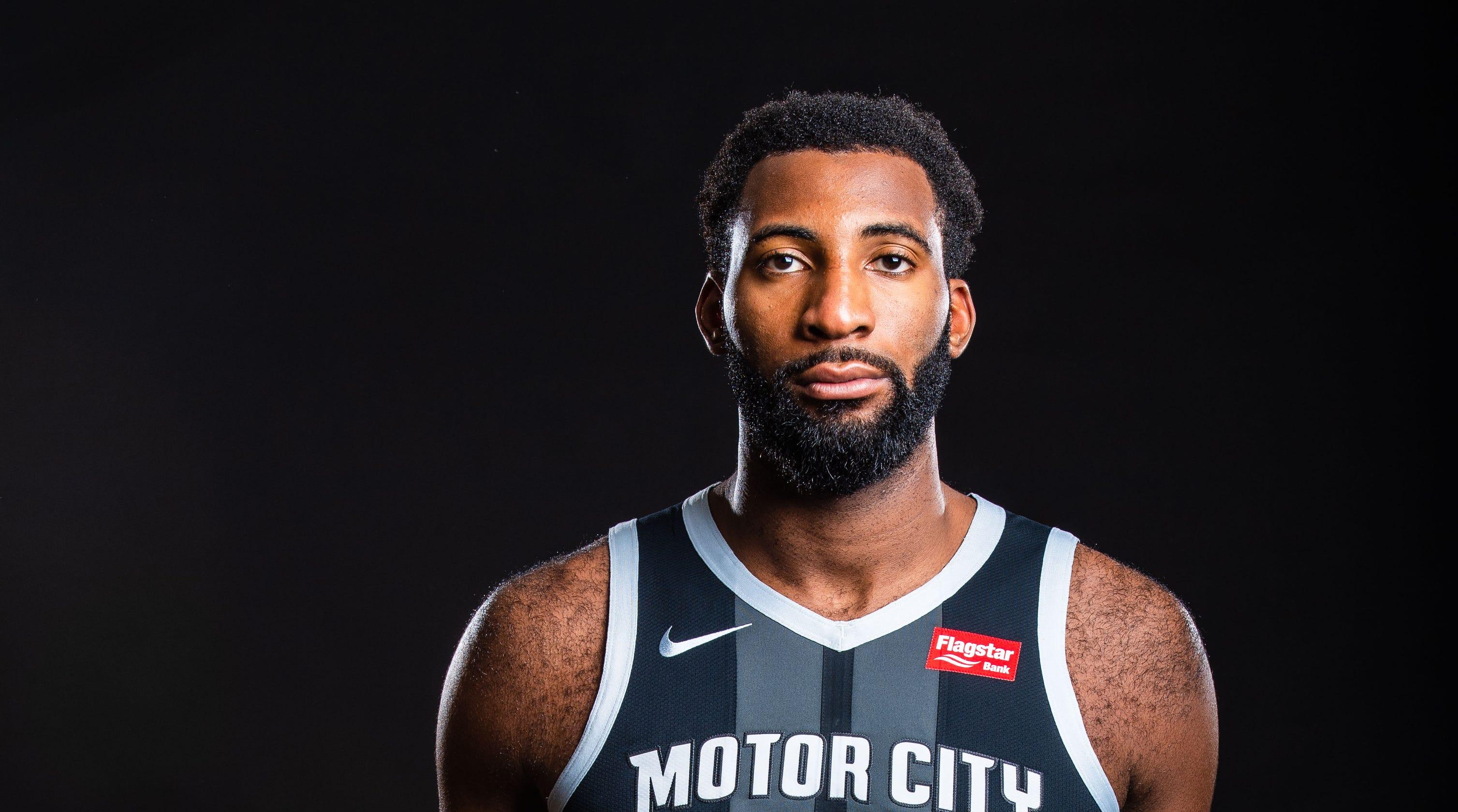 67ba89dba190 Detroit Pistons  City  uniforms feature  Motor City  front