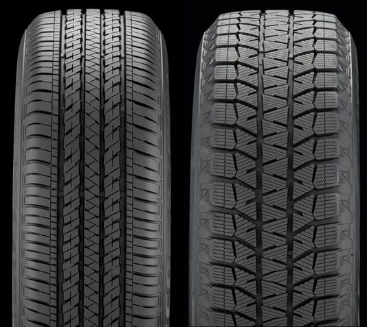 Standard And Snow Tires