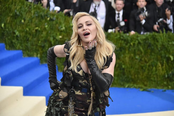 """Madonna attends the """"Rei Kawakubo/Comme des Garcons: Art Of The In-Between"""" Costume Institute Gala at Metropolitan Museum of Art on May 1, 2017, in New York City."""