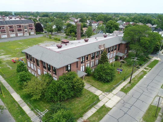 The planned home for Detroit Prep charter school is the former Joyce Elementary School on Sylvester Street in Detroit.
