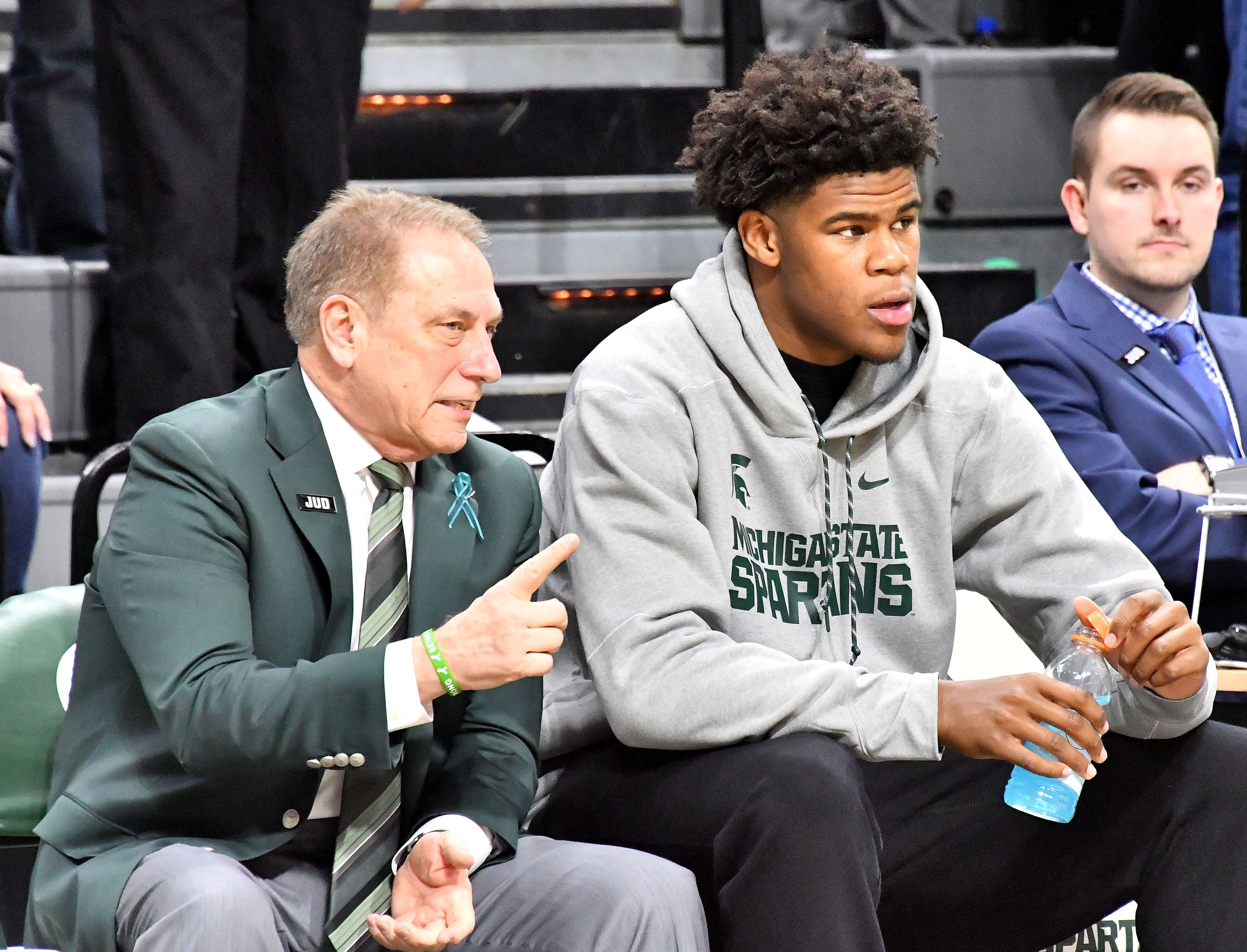 Michigan State in final 3 for nation's No. 2 recruit