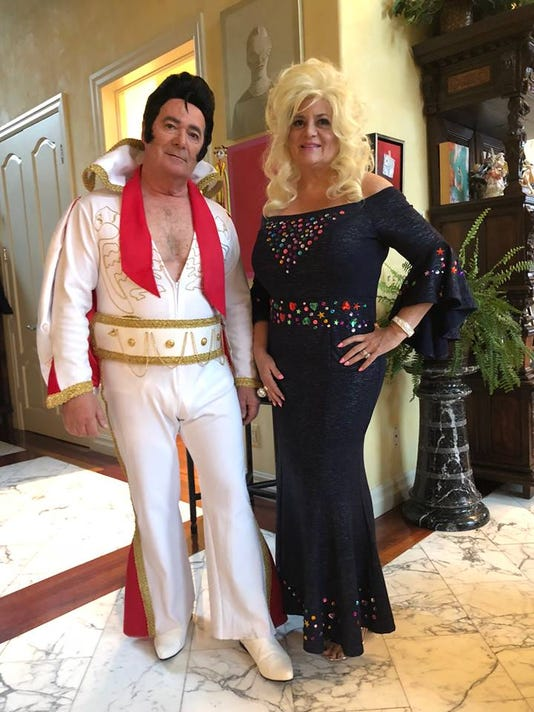 Nino And Liz Elvis And Dolly