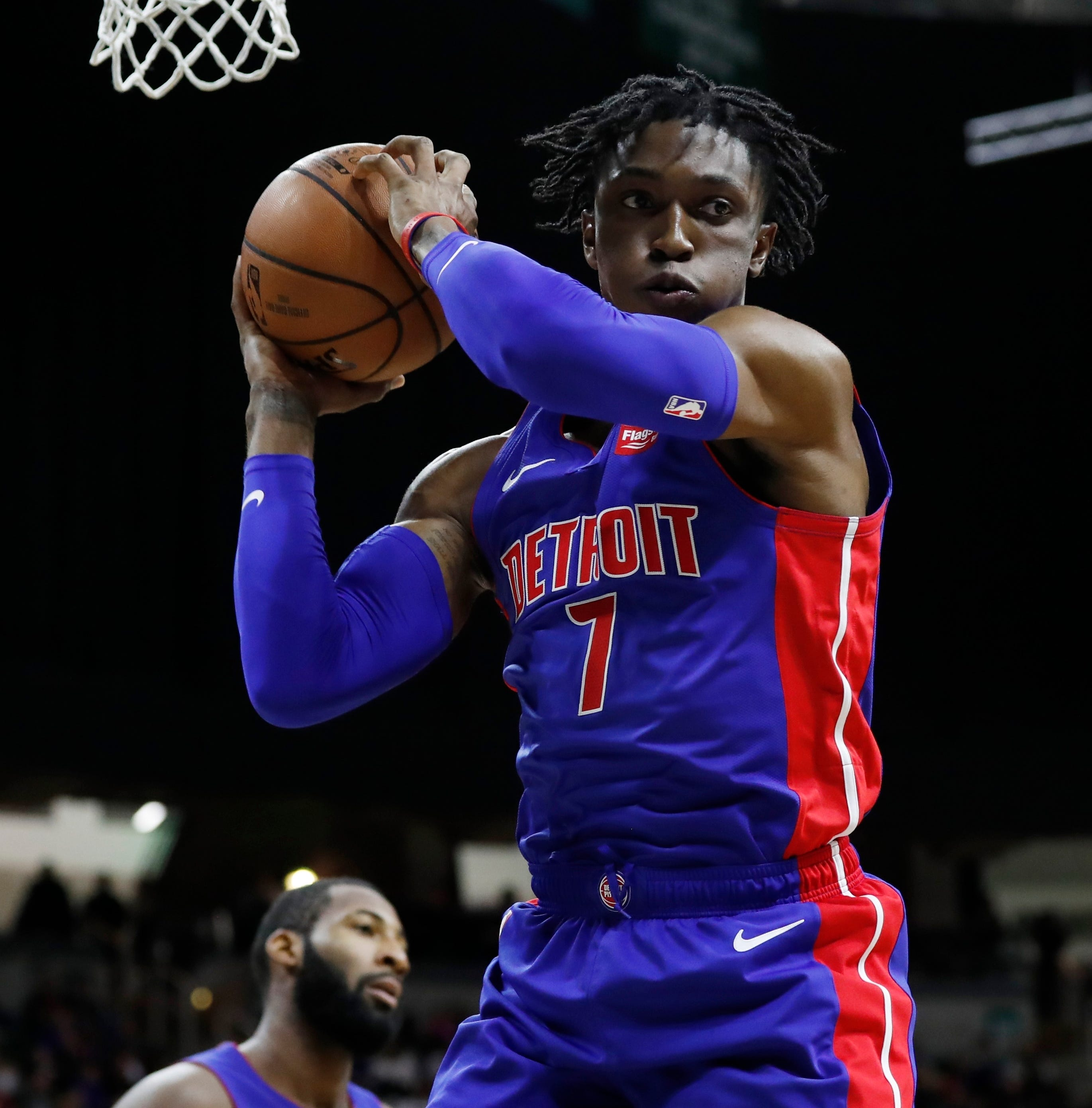 Stanley Johnson continues to work through growing pains