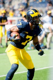 Michigan wide receiver Tarik Black appears to be nearing a return.