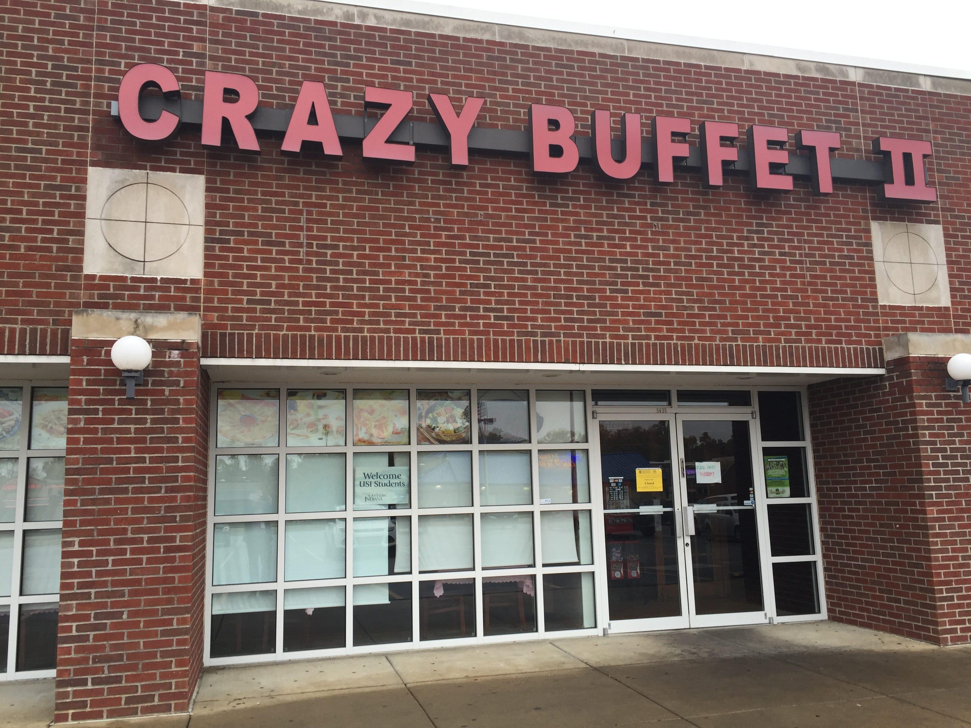 crazy buffet ii on evansville s west side reopens rh courierpress com crazy buffet 2 evansville indiana crazy buffet evansville indiana closed by health department