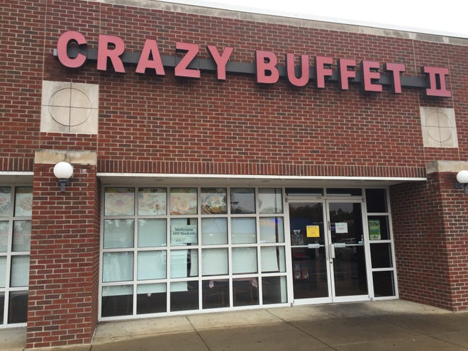 Crazy Buffet II on Pearl Drive has been shut down for alleged code violations.