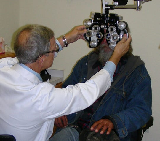 Last year, specialists working with Florida Eye Clinic did 1,900 eye exams, dispensed 338 bottles of medicine and performed 84 surgeries, which include pterygium and argon laser procedures.