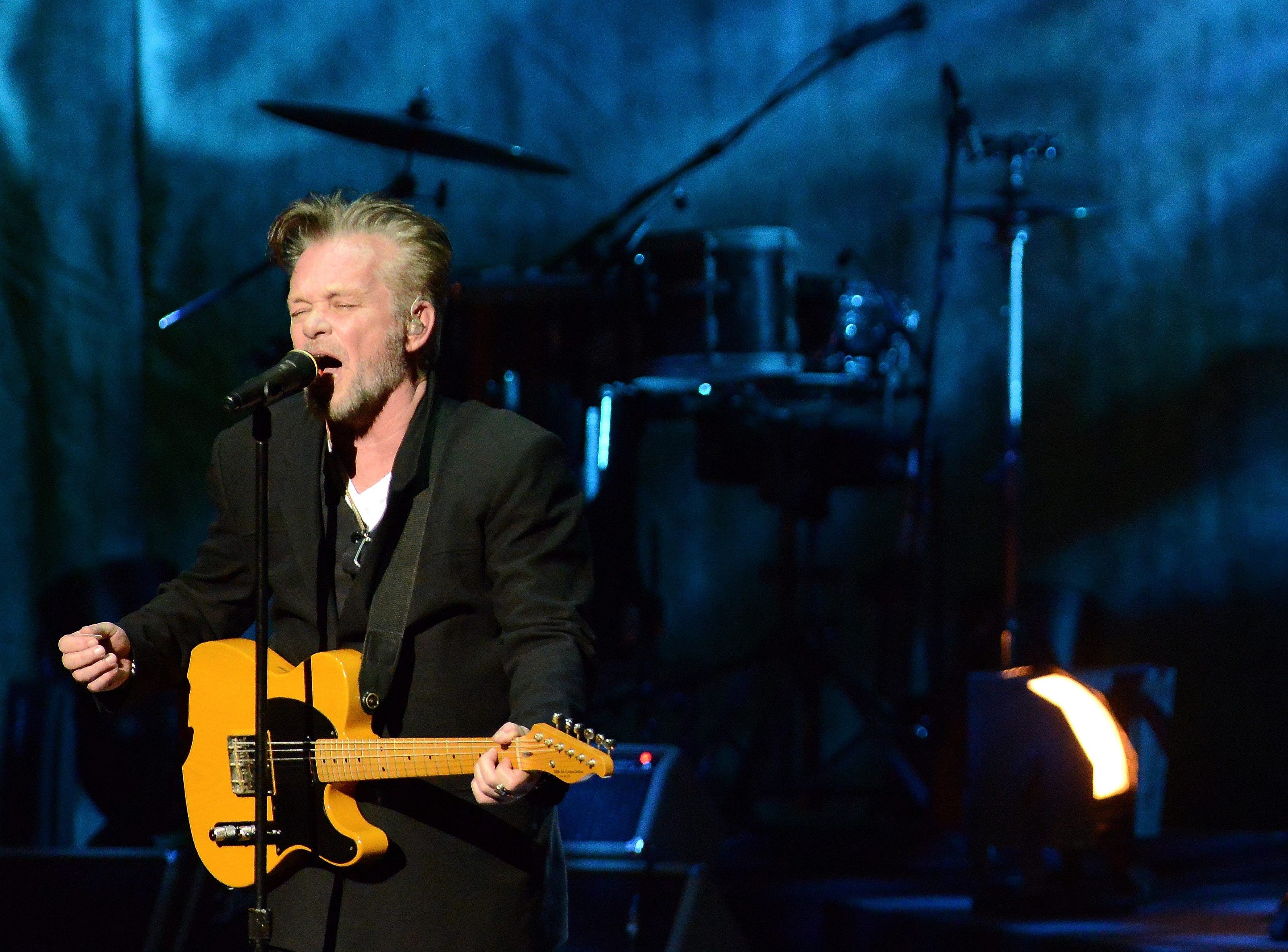 John Mellencamp performs on Feb. 9, 2015, at the Weidner Center. He'll return to that stage in 2019 for a concert on April 13.