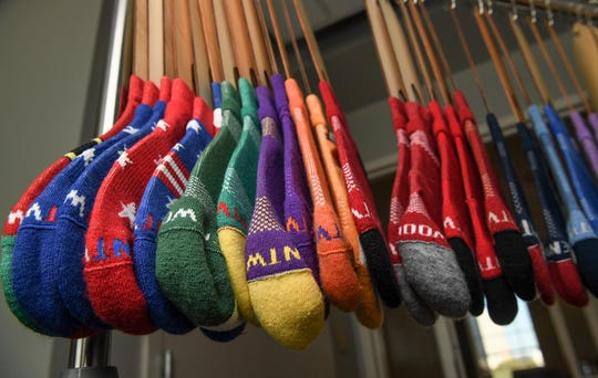 A variety of socks are made by Kentwool manufacturing.