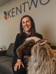 Kim Kent, widow of Kentwool manufacturing CEO Mark Kent, carries on the leadership in both the company and a tradition of community service.
