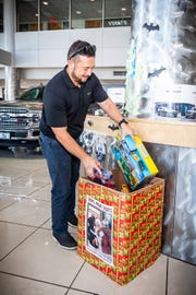 Over 700 plus employees were invited  to make a donation for those in need in Guam and the CNMI. For every toy or monetary donation made by an employee of Triple J, the company will match it toy for toy, dollar for dollar.
