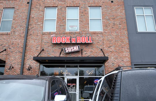 Rock N Roll Sushi is located in the District at Midtown off Hardy Street in Hattiesburg.
