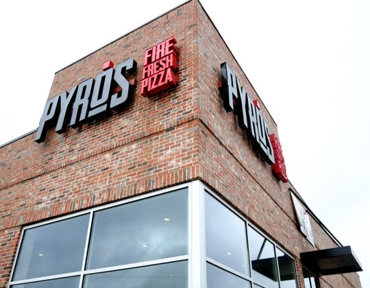 Pyro's Pizza is located in the District at Midtown off Hardy Street in Hattiesburg.