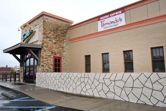 Fernando's Mexican Restaurant is located in front of Target off U.S. 98 in Hattiesburg.