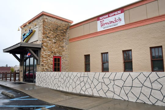 Fernando's Mexican Restaurant is located in front of Target off U.S. 98 in Hattiesburg.
