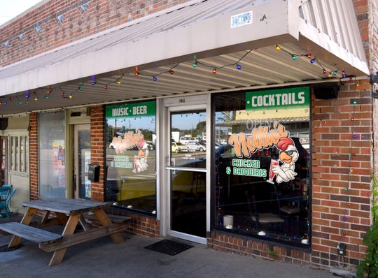 Nellie's Chicken and Daiquiris is located in downtown Hattiesburg on East Front Street.