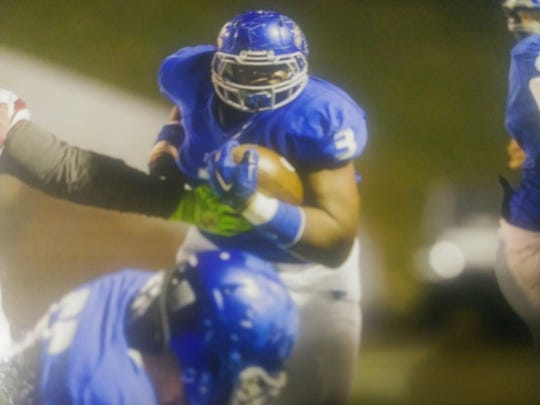 Erroll Thompson played running back at Florence High School during his freshman season but switched to linebacker after tearing his ACL.