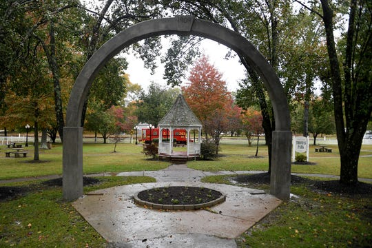 Thomas Park in Huntingdon received renovations. The park was established in 1906 by the Civic Improvement Club.