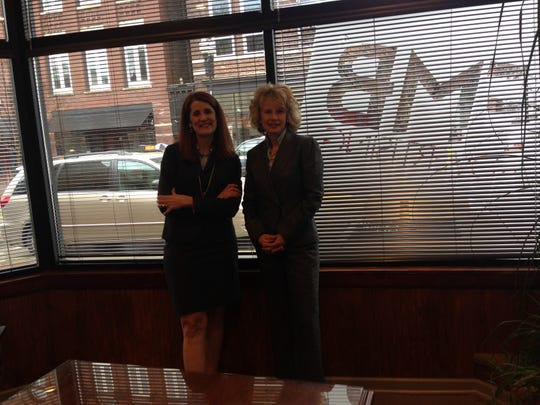 Jody Freeman (left) is president of FMB Advertising and Odette Shults (right) is senior vice president.