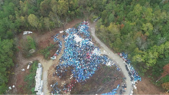 The Tennessee Department of Environment and Conservation cited a Jacksboro reverend for water quality violations after discovering a stockpile of thousands of barrels containing chemical pollutants that were leaking into a Coal Creek Tributary.