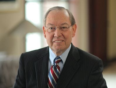 Jimmy Cheek, Director of the Postsecondary Education Research Center, Distinguished Professor of Educational Leadership and Policy Studies and Chancellor Emeritus of the University of Tennessee, Knoxville is being honored by his alma mater. Cheek has been chosen as one of the 2018 Outstanding Alumni for Texas A& M University.