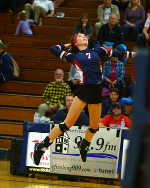 Fairfield Christian's Blaire Barr was the Mid-State League-Cardinal Division Player of the Year for the second consecutive year.