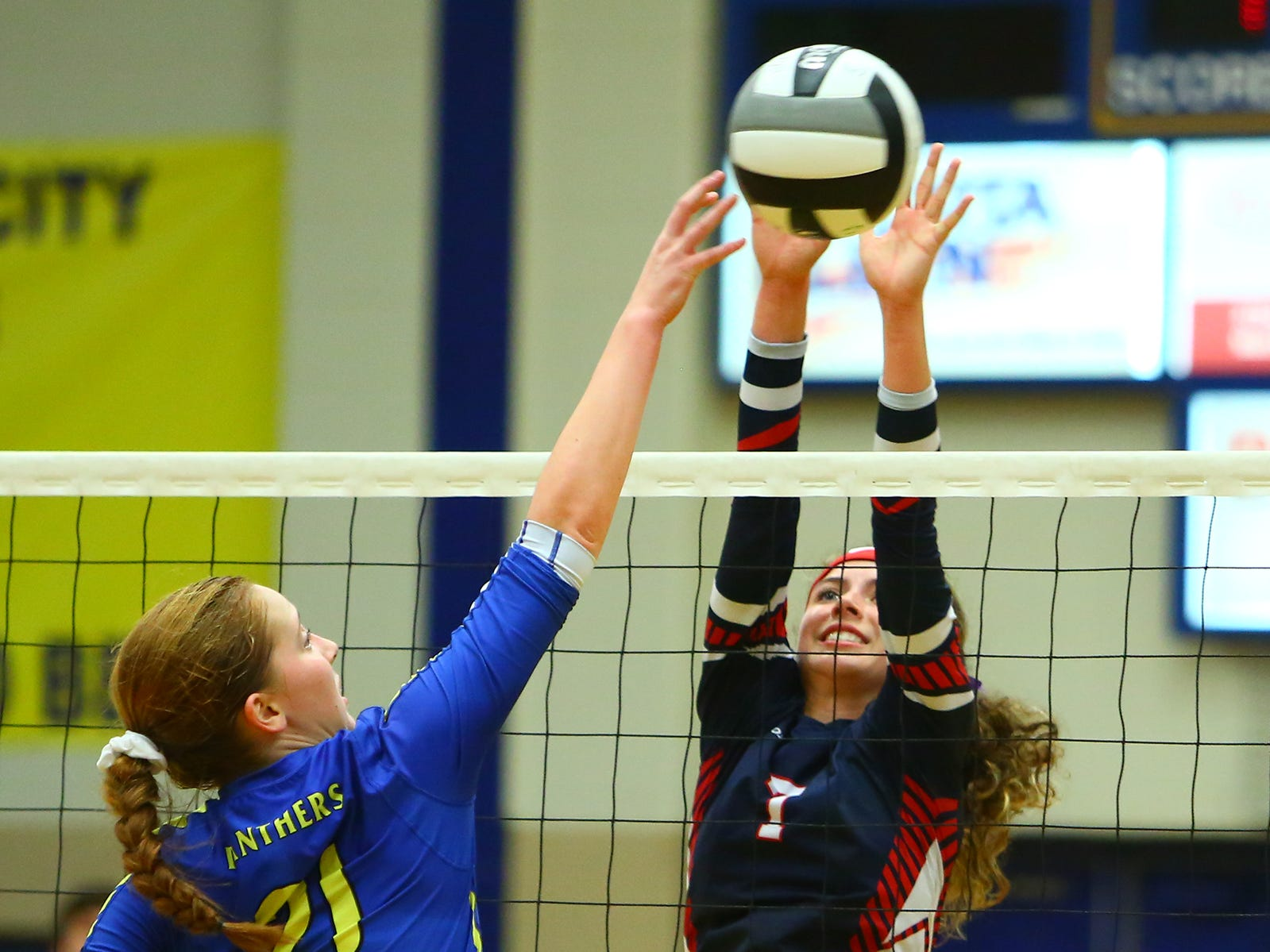 Fairfield Christian lost to Portsmouth Clay Wednesday night, Oct. 31, 2018, at Lancaster High School in a regional semifinal game in Lancaster.