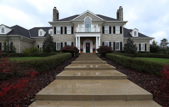 The home of Chris and Christi Mack in Louisville.