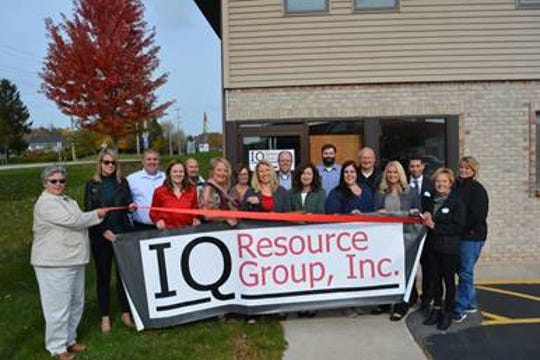 IQ Resource Group recently held a ribbon-cutting and grand opening to celebrate its move to a new location at 405 N. Rapids Road, Manitowoc.