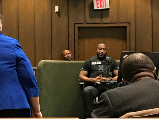 Memphis police Officer Jacoba Boyd describes in court finding MPD officer Sean Bolton on the night he was killed.