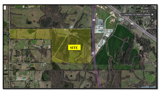 Quinn Ridge development tract