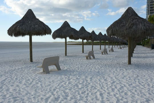 Residents Beach is over 200 yards wide, but will be narrowed by the beach regrading. Collier County will begin a million dollar-plus reshaping of the beach along Marco Island in the early months of 2019.