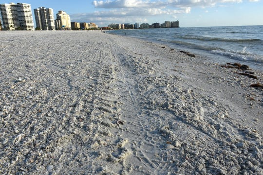 Collier County will begin a million dollar-plus reshaping of the beach along Marco Island in the early months of 2019.