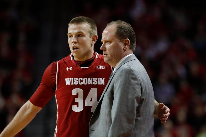 UW coach Greg Gard is glad to see Brad Davison and his Badgers teammates spending more time off the court in order to build stronger relationships on the court.
