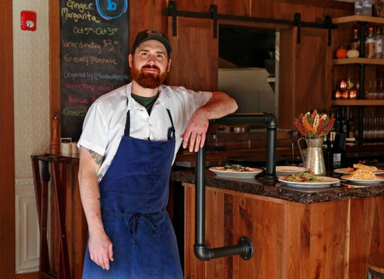 Chef Andrew Wilson is the owner with his wife, Rhiannon, of Brandywine restaurant in Cedarburg.