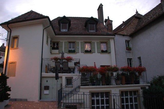 Ann Piovano's Swiss home.