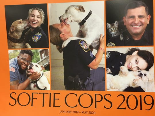 Autauga County Sheriff Joe Sedinger appears as Mr. May in an anti-animal cruelty calendar.