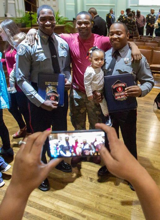 Montgomery Fire Rescue Graduation Ceremony