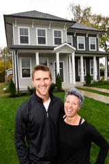 Sean and Erin Oprea are thrilled to find their new home close to downtown.