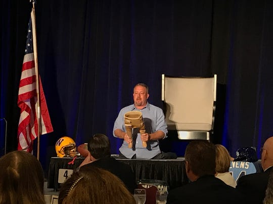 Dave Stevens was the keynote speaker at the 24th annual Southwest Florida Blue Chip Community Business Award on Thursday, Nov. 1, 2018, in Bonita Springs.