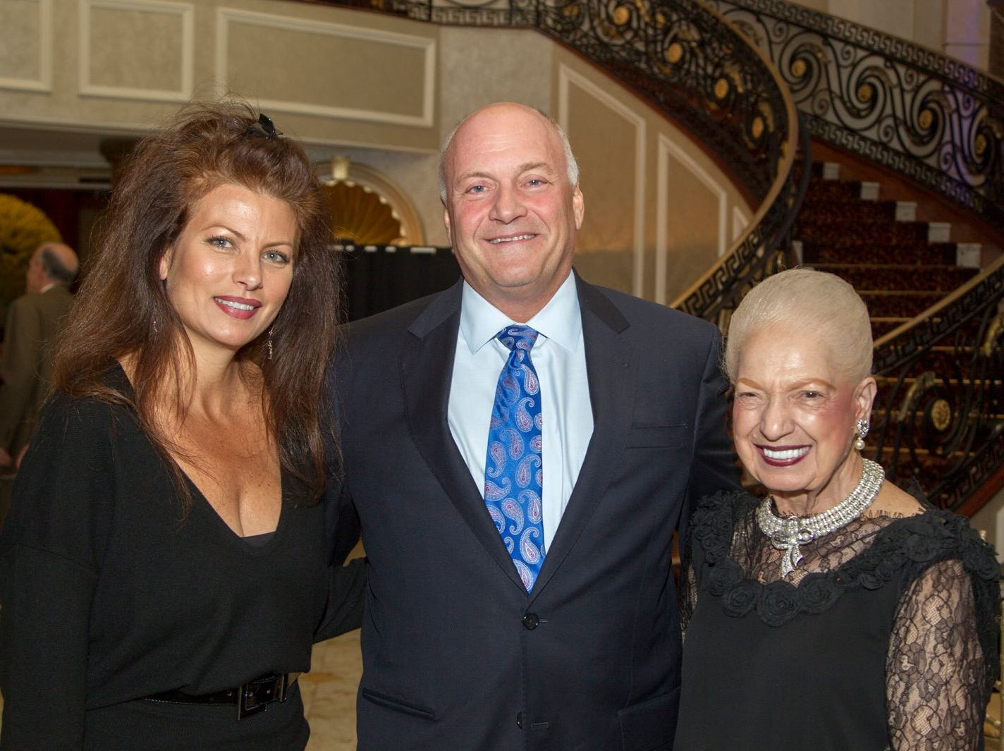 Kristine Sayrafe, Michael Maron, Lucia Palestroni. Holy Name Medical Center held its 2018 MS Center Awards Reception at the Venetian in Garfield. 10/23/2018