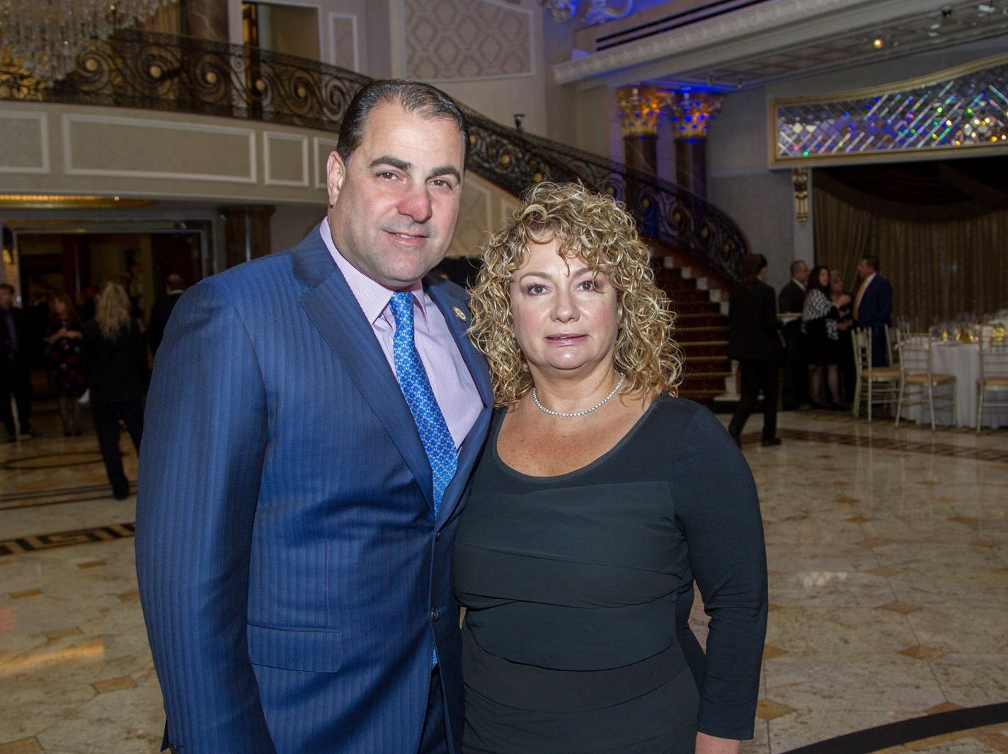 Senator Paul Sarlo and Connie Sarlo. Holy Name Medical Center held its 2018 MS Center Awards Reception at the Venetian in Garfield. 10/23/2018