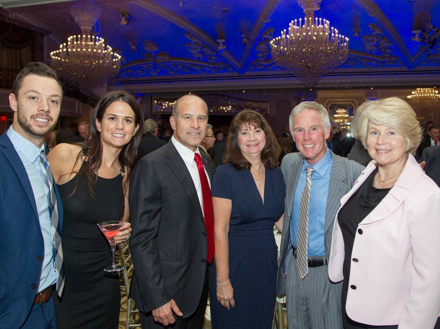 Tyler and Meridith Crawford, Joe and Tina Coccaro, Brian and Janet McCourt. Holy Name Medical Center held its 2018 MS Center Awards Reception at the Venetian in Garfield. 10/23/2018