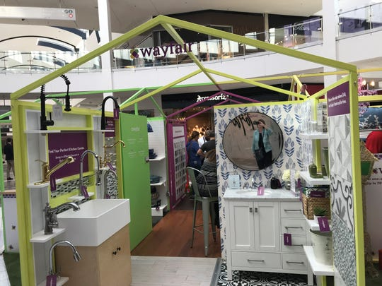 The Wayfair shop includes a renovations area with information about ordering everything from tiles to the kitchen sink online.